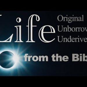 Life Original, Unborrowed, Underived, from the Bible – with Daniel Mesa